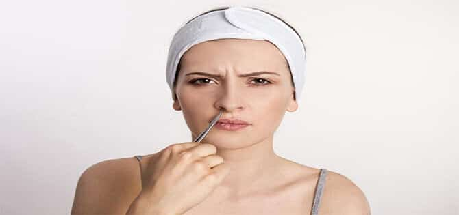 How to remove nose hair for females