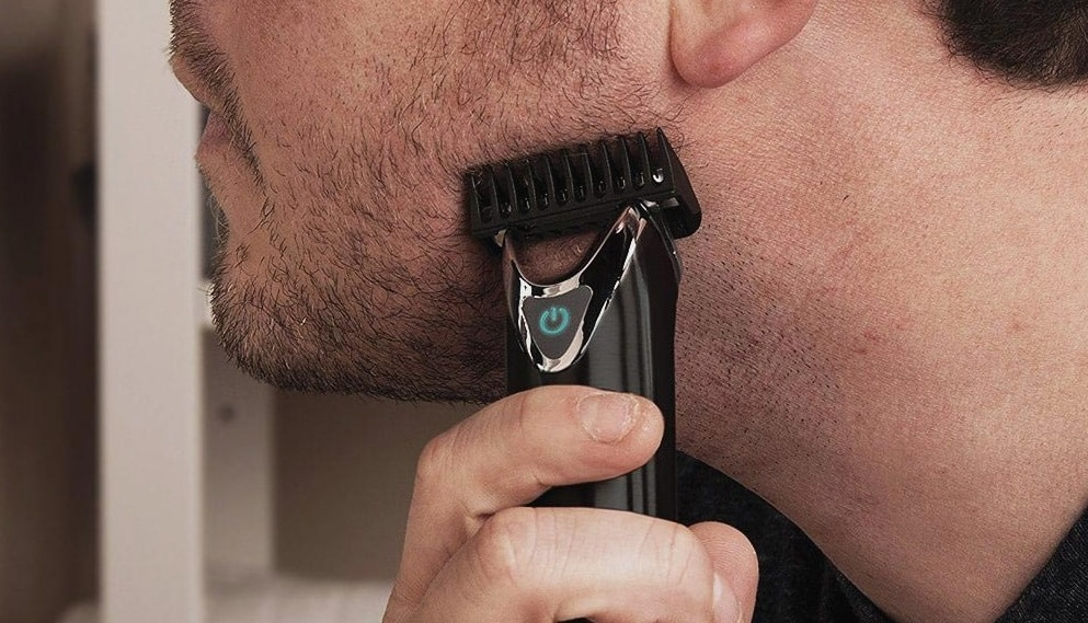 how to use a beard trimmer with guard